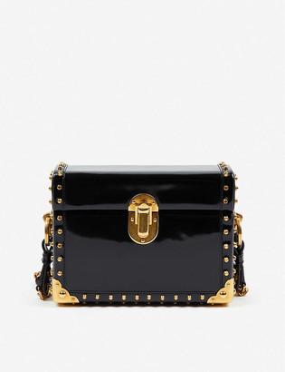 Vestiaire Collective Prada box leather cross-body bag