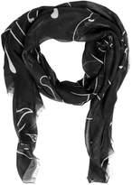 Valentino Panther Modal, Cashmere & Silk Scarf