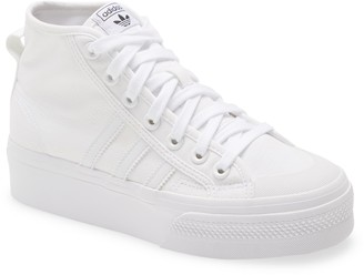 adidas Nizza Mid Top Platform Sneaker