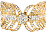 Lulu Frost Crystal Feather Cuff Bracelet