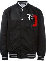 Facetasm logo print bomber jacket