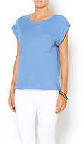BCBGeneration Rolled-Sleeve Top