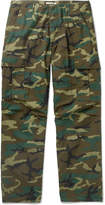 OrSlow - Camouflage-Print Cotton-Ripstop Cargo Trousers