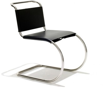 Design Within Reach MR Side Chair in Leather