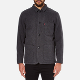 Levi's Wool Engineers Coat Black Heather