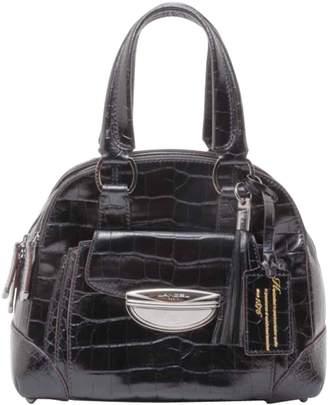 Lancel Adjani Black Patent leather Handbags