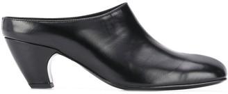 Dorateymur Square Toe Block Heel Mules