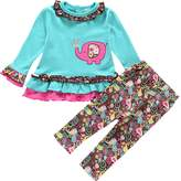 YOA Infant Baby Girls Clothing Sets T Shirt and Pants