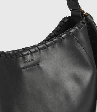 AllSaints Courtney Leather Hobo Bag