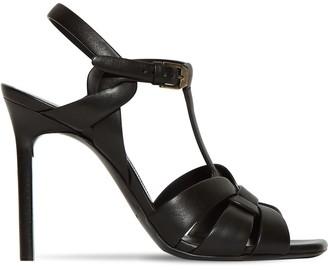 Saint Laurent 105mm Tribute Leather Sandals