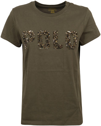 Ralph Lauren Military Green Cotton T-shirt