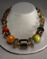 Multi-Stone Bead Necklace