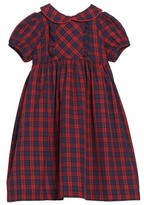 Luli & Me Toddler Girl's Plaid Dress