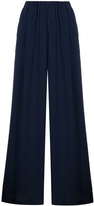 Semi-Couture Elastic Palazzo Trousers