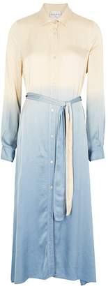 Forte Forte Degrade Satin Shirt Dress