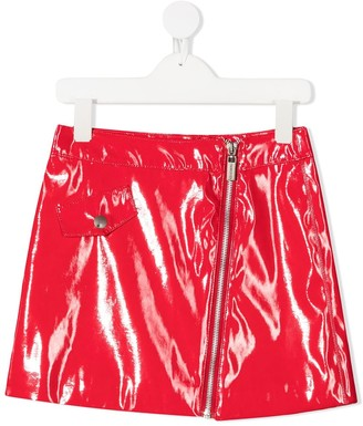 Iceberg Kids Glossy Short Skirt