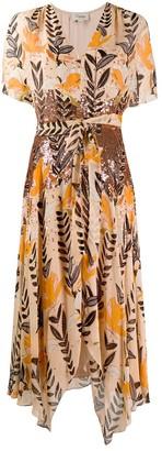 Temperley London Bellflower sequin dress