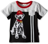 Le Top Fire Chief Pieced Shirt with Reflective Tape Sparky The Dalmation (Infant/Toddler)