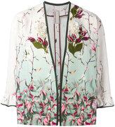 Antonio Marras embroidered flower jacket - women - Silk/Cotton/Linen/Flax/plastic - 44