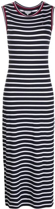 Tommy Hilfiger Sleeveless Stripe Print Dress