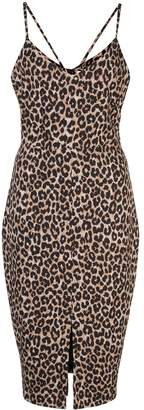 LIKELY Brooklyn leopard print dress