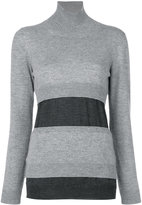 Marni panelled turtleneck sweater