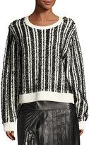 Public School Nabila Striped Wool-Knit Sweater
