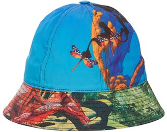 Valentino Printed Nylon Bucket Hat