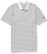 Nike Short-Sleeve Icon Horizontal Stripe Polo Shirt