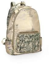 Bari Lynn Kid's Camo Metallic Backpack