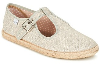Citrouille et Compagnie GOUROU girls's Shoes (Pumps / Ballerinas) in Silver