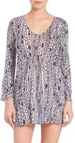 Milly Chain Print Buzios Tunic