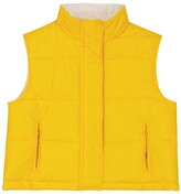 Thumbnail for your product : BRUNELLO CUCINELLI KIDS Reversible down-filled vest
