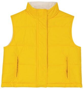 BRUNELLO CUCINELLI KIDS Reversible down-filled vest