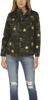 Jocelyn Camo Field Jacket with Stars