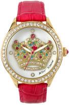 Betsey Johnson Women&s Royalty Crystal Fashion Watch
