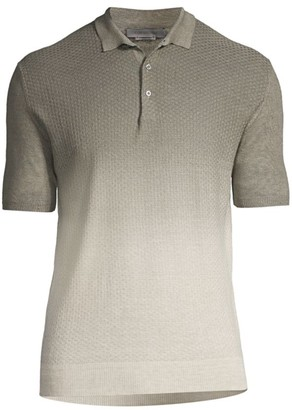 Corneliani Ombre Polo Shirt