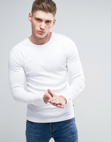 Lindbergh Long Sleeve Top In White