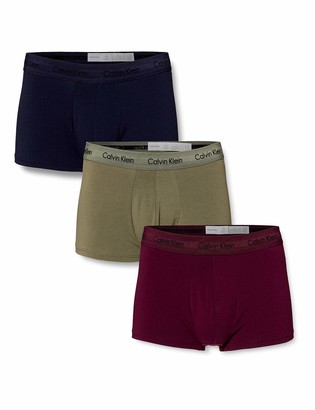 Calvin Klein Men's Low Rise Trunk 3pk Boxer Shorts
