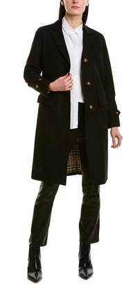 Burberry Gabardine Lab Coat
