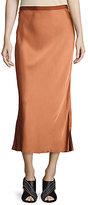 Helmut Lang Midi Slip Skirt