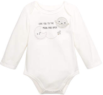 First Impressions Baby Unisex To The Moon Bodysuit
