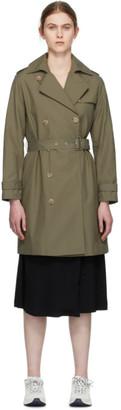 A.P.C. Khaki Josephine Trench Coat
