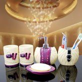 SEJJSD SEJJ-Top grde resin wsh wedding PCs dentl equipment-bthroom bth gift set 5 piece bthroom suite