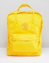 Fjallraven Re-kanken 16l Backpack In Yellow