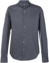 Wooyoungmi double collar slim-fit shirt