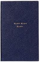 Smythson Blah Blah Blah Leather Notebook