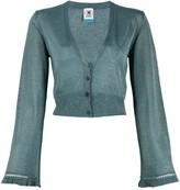 M Missoni lurex knit cropped cardigan