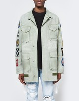 Off-White Field Jacket with Patches
