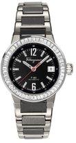 Salvatore Ferragamo Men's F54MBA9209 S789 F-80 Automatic Luminous Black Diamond Watch